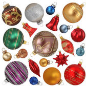 Christmas ornaments — 图库照片