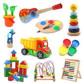 Kolekcja zabawek — Zdjęcie stockowe