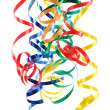 Colorful paper streamer — Stock Photo #5525013