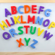 Stock Photo: Magnet letters