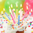 Birthday Kaarsen — Stockfoto #5566573
