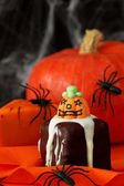Halloween cakes — Stock Photo