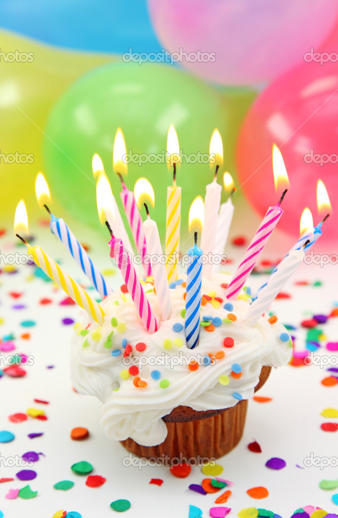 Birthday candles  — Stock Photo #5566573