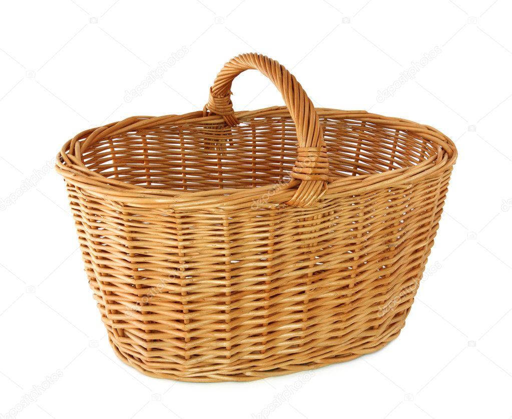 Empty basket stock photo egal 5567004 - Cestos de mimbre ...