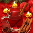 Hot winter tea — Stock Photo
