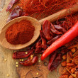 Assortment of chili, - Stock Photo