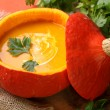 Pumpkin soup - Stockfoto
