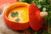 Pumpkin soup — Foto de Stock