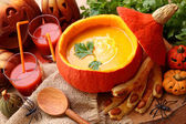 Pumpkin soup — Photo