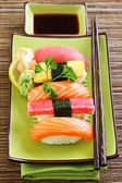 Japan traditional food sushi — Stock Photo