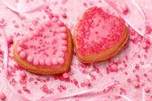 Barevný dekorovaný soubory cookie — Stock fotografie
