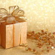 Christmas gift box — Stock Photo #6030335