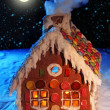 Homemade gingerbread house — Stock Photo #6031642