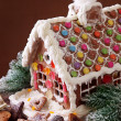Homemade gingerbread house — Stock Photo #6032023