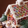 Stock Photo: Homemade gingerbread house