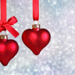 Christmas hearts — Stock Photo #6033532