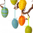 Colorful easter eggs — Stock Photo #6034086
