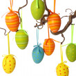 Colorful easter eggs — Stock Photo #6034108