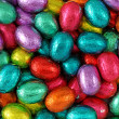 Stock Photo: Chocolate eggs