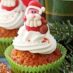 Christmas cupcakes — Stock Photo #6034402