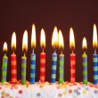 Birthday candles — Stock Photo #6034494