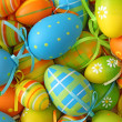 Colorful easter eggs — Stock Photo #6034566