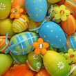 Colorful easter eggs — Stock Photo #6034573