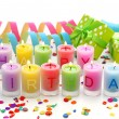 Birthday candles — Stock Photo #6034599