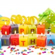 Birthday candles — Stock Photo #6034608