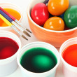 Painting easter egg — Stock Photo