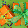 Two gift boxes — Stock Photo #6037899