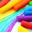 Stock Photo: Oil Pastel Crayons