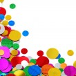 colorful confetti — Stock Photo #6038464