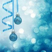 Blue christmas lights — Stock Photo