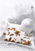 Christmas cakes — Stock Photo