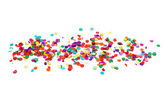Colorful confetti — Foto Stock