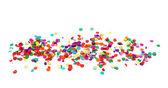 Kleurrijke confetti — Stockfoto