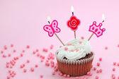 Birthday cake — Stock Photo
