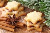 Christmas cakes — Stock Photo