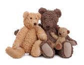 Família de ursos de pelúcia — Foto Stock