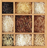Assortment of rice — Stock Photo