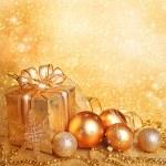 Christmas gift box — Stock Photo #6285291