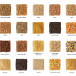 Stock Photo: Cereals collection