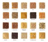 Coleção de cereais — Foto Stock