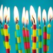 Birthday candles — Stock Photo #6482561