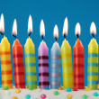 Birthday candles — Stock Photo #6482580