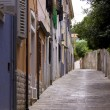 Street in mali losinj — Stock Photo
