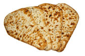 Fresh naan bread — Stock Photo