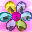 Flower diamond — Stock Photo