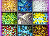 Colorful beads — Stockfoto